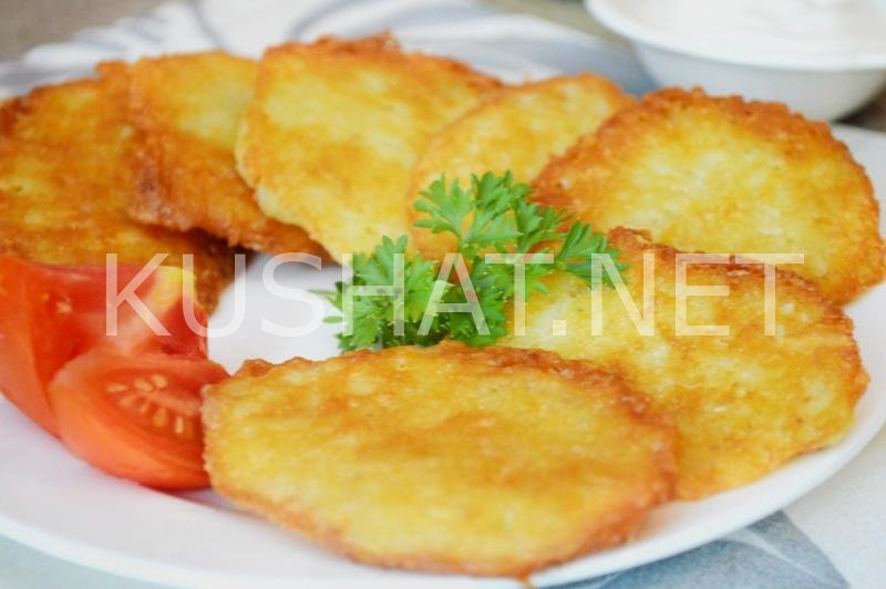 Драники картофельные с сыром рецепт пошаговый с