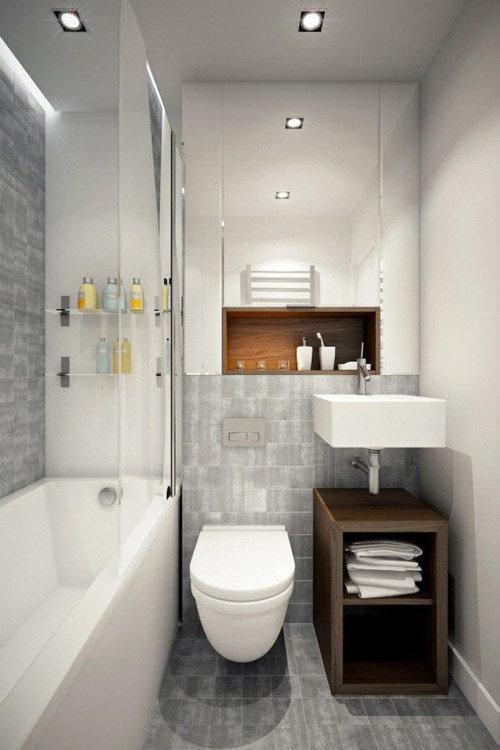 Маленький узкий туалет 1.5 м.кв фото лучших интерьеров