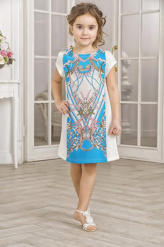 """голубо-белое платье с необычными узорами"""" - карточка пользователя dusmatova.oks в Яндекс.Коллекциях"""