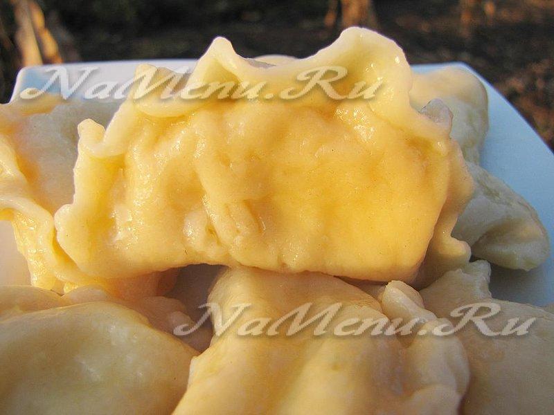 Тесто на вареники с творогом на воде рецепт с пошагово