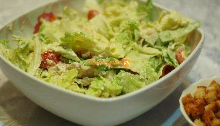 Простые салаты из вареной курицы рецепты с