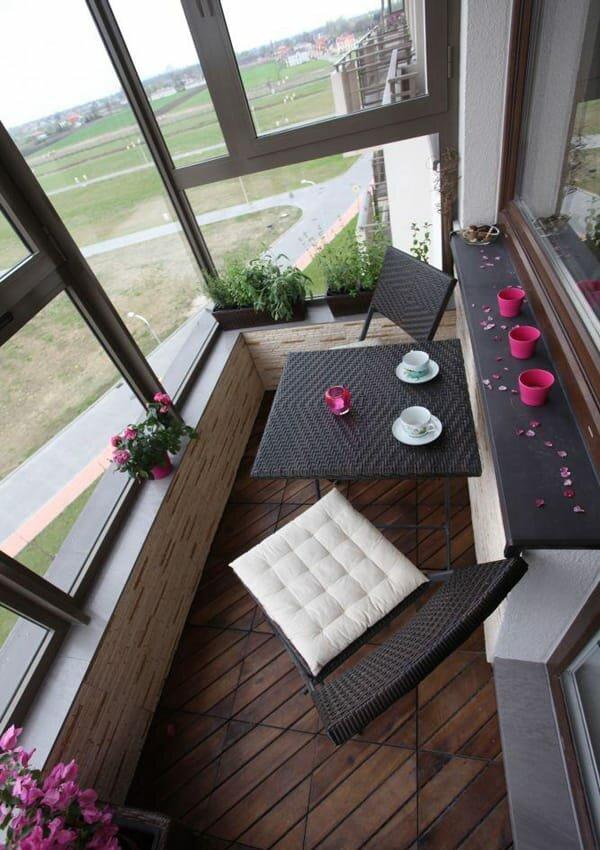 Ремонт балкона в своем доме своими руками 401