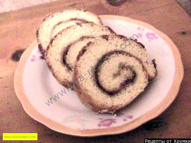 Рулет сладкий рецепты с пошагово