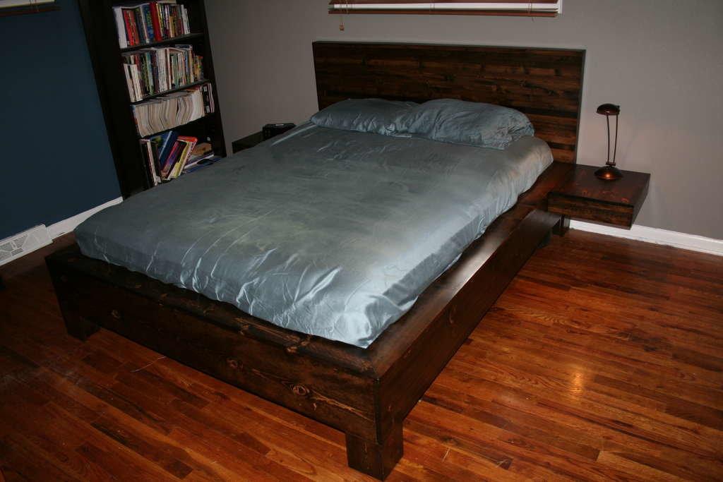 Деревянные кровати своими руками фото 44