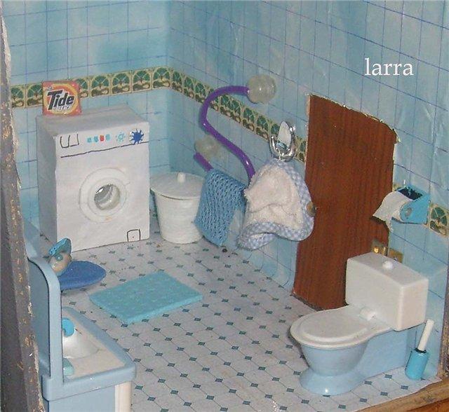 Как сделать ванну для куклы своими руками 95