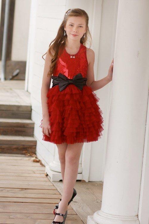 """Красное платье с пайеткам для взрослой модницы."""" - карточка пользователя cat.caterina28 в Яндекс.Коллекциях"""