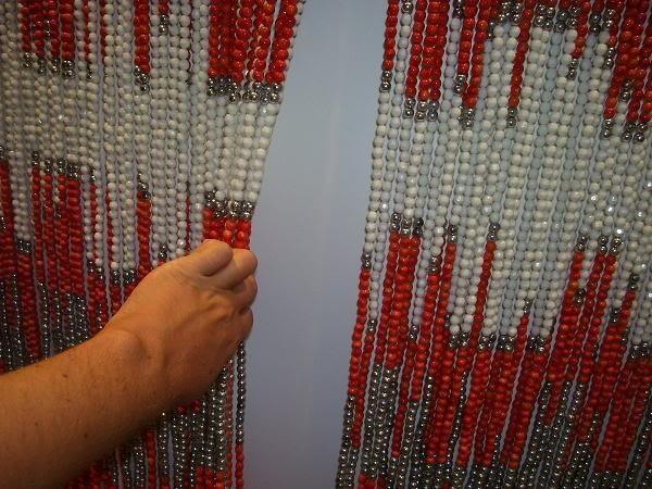 Как сделать шторы из бисера