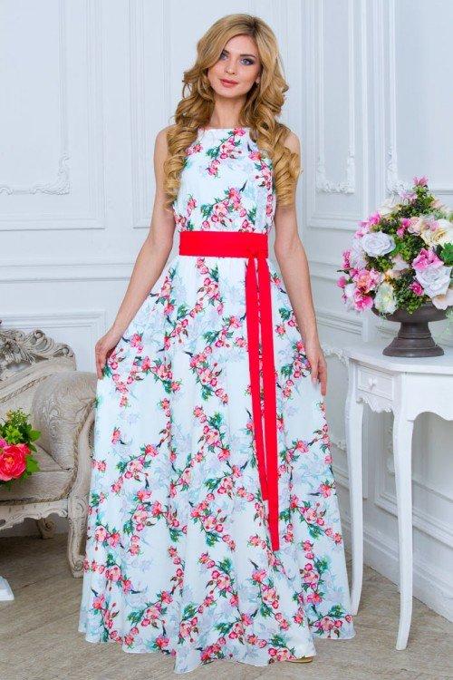 Платья в пол летнее
