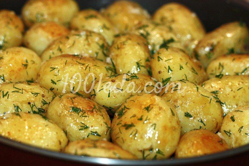 Молодая картошка с укропом и чесноком рецепт пошагово