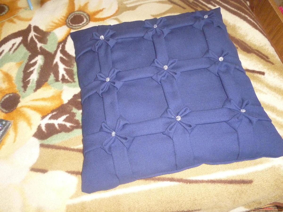 Декоративные своими руками подушки с буфами своими руками