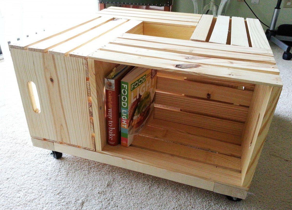 Делаем эконом мебель из картона: стол, полки для книг и обуви 75