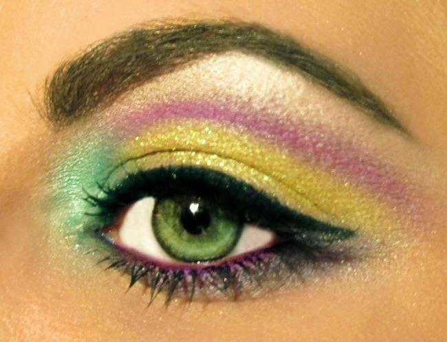 Макияж для зеленых глаз пошагово