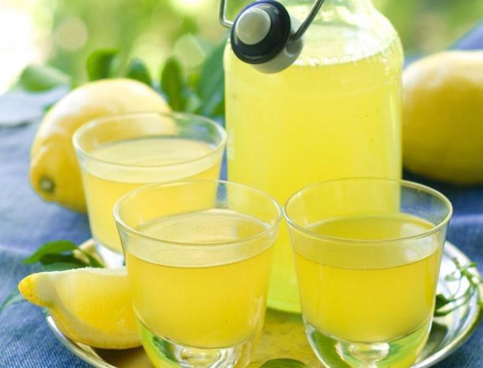 Рецепт лимончелло в домашних условиях из водки быстрый