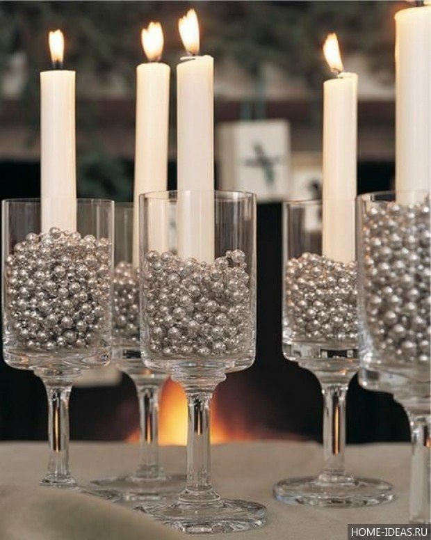 Из чего можно сделать подсвечник своими руками для длинных свечей 54