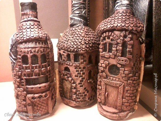 Домик из бутылки своими руками мастер класс