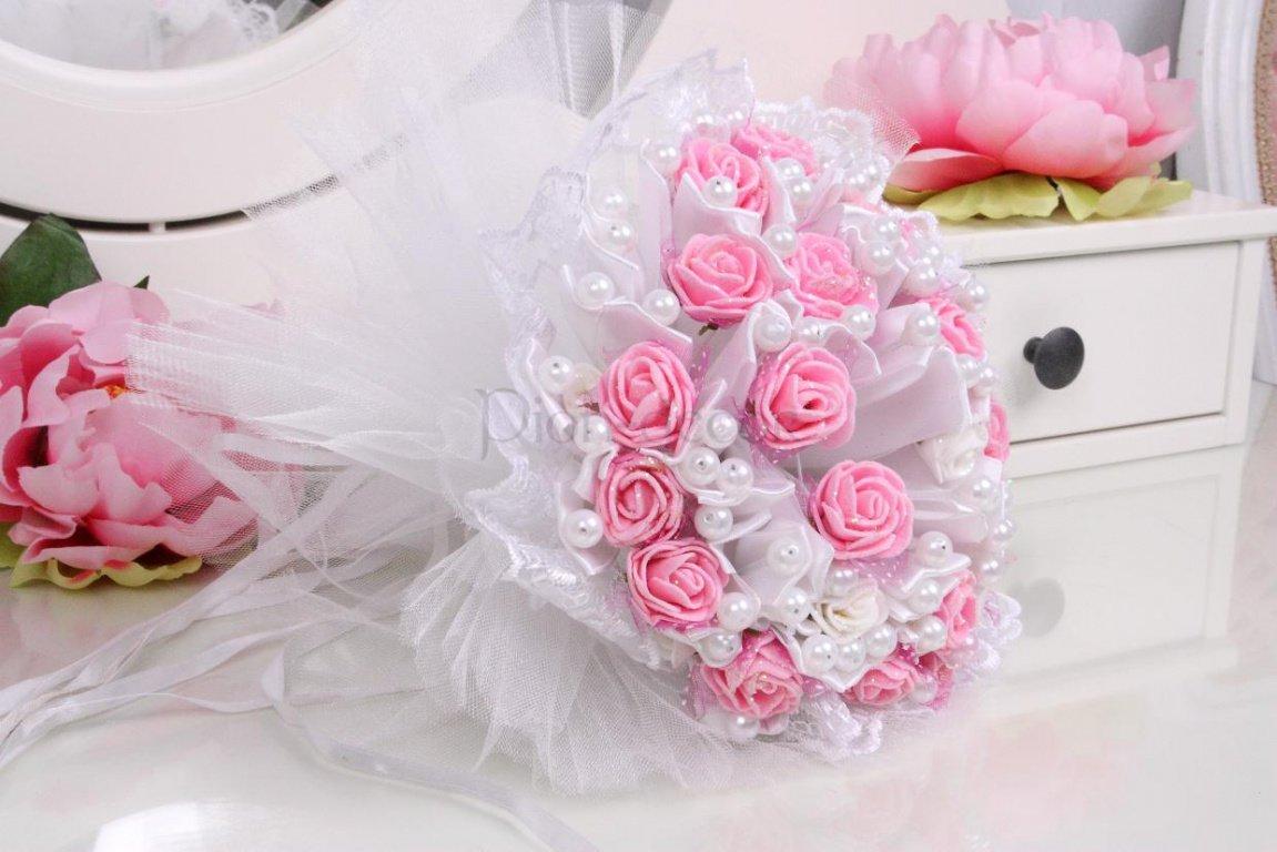 Как сделать дублёр свадебного букета