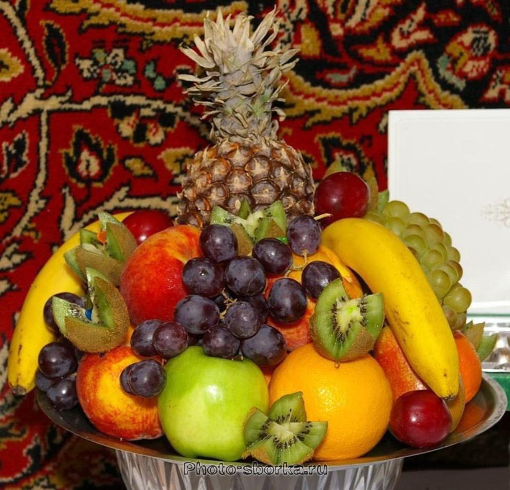 Как сделать декоративные фрукты 952