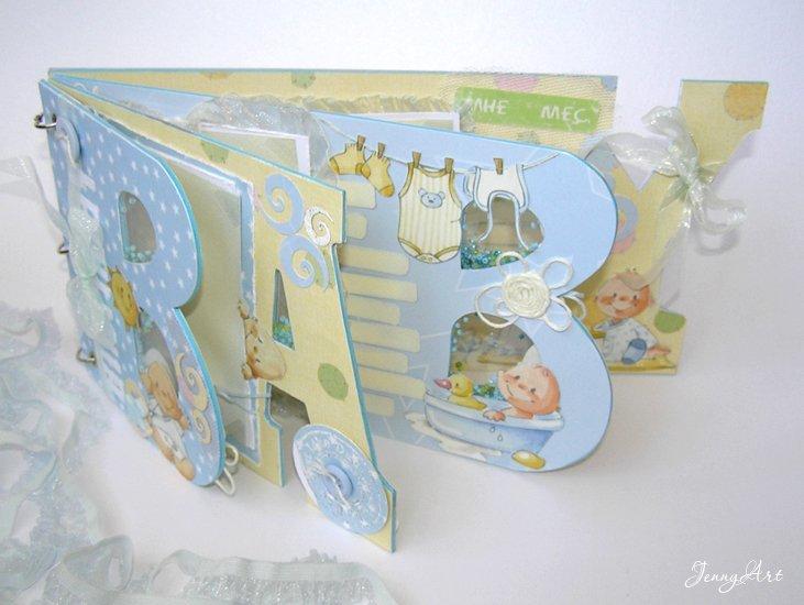 Фотоальбом своими руками для новорожденных пошагово