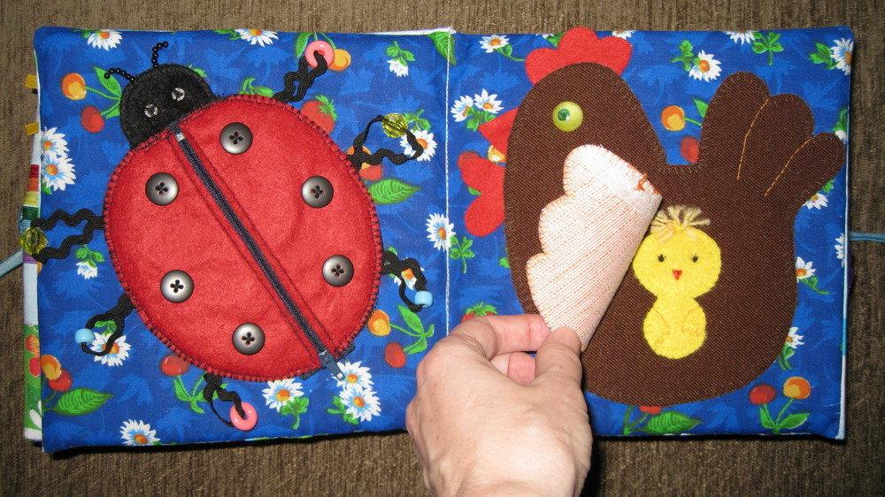 Детская книжка своими руками делаем