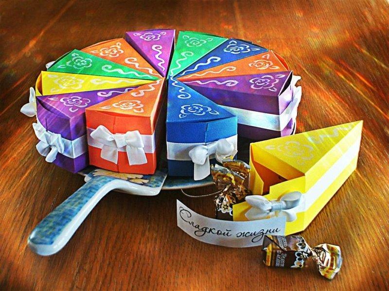 Коробочки для конфет своими руками