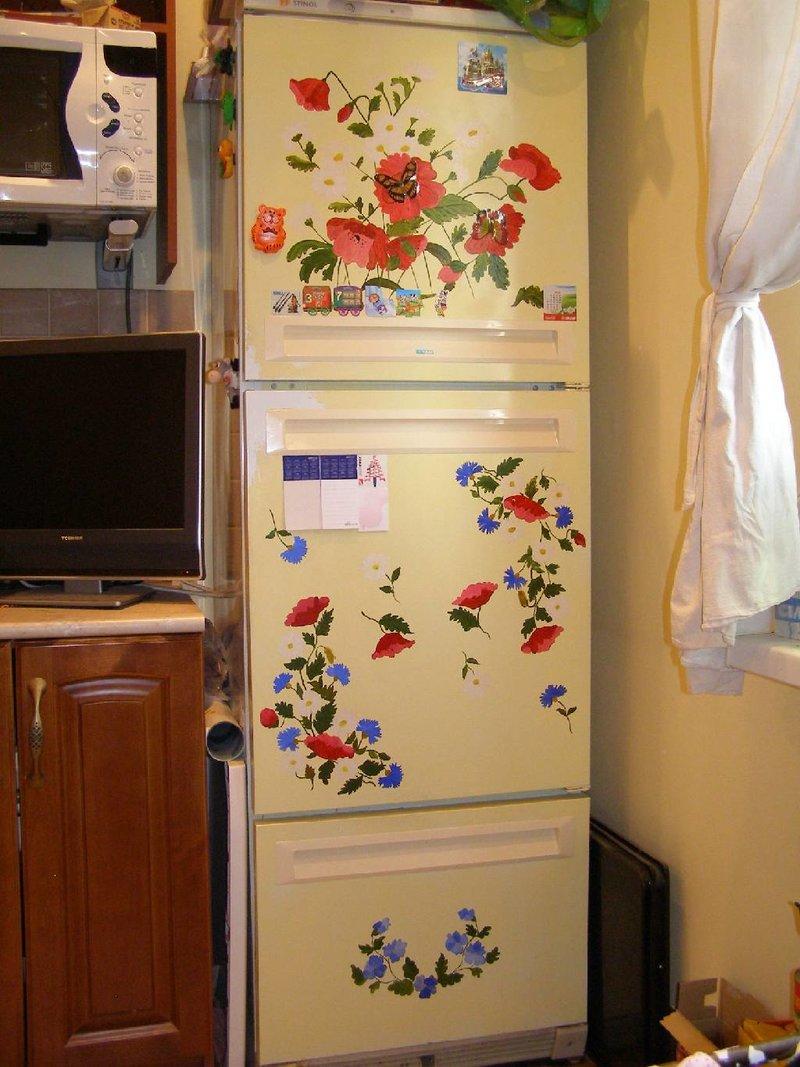 Как обновить старый холодильник своими руками фото, Перетяжка авто своими руками фото, Подсветка колес на автомобиль своими рука