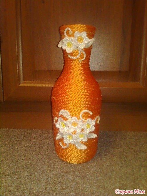 вазы из бутылки своими руками мастер класс - Портал для самоучек