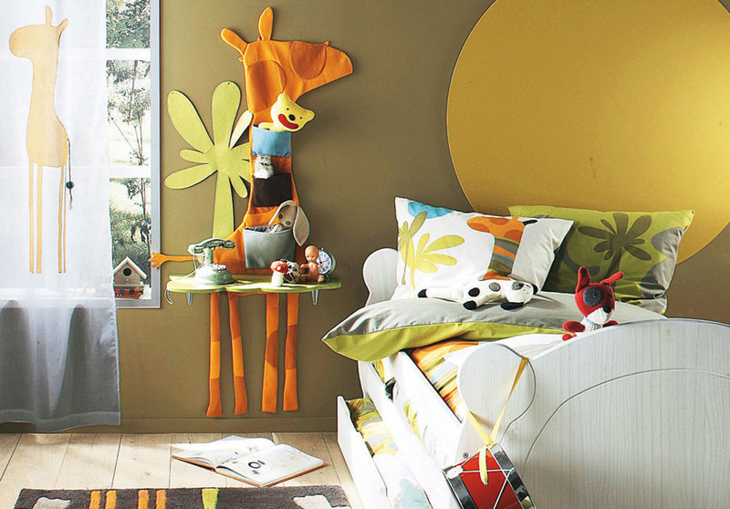 Идея дизайна детской комнаты своими руками