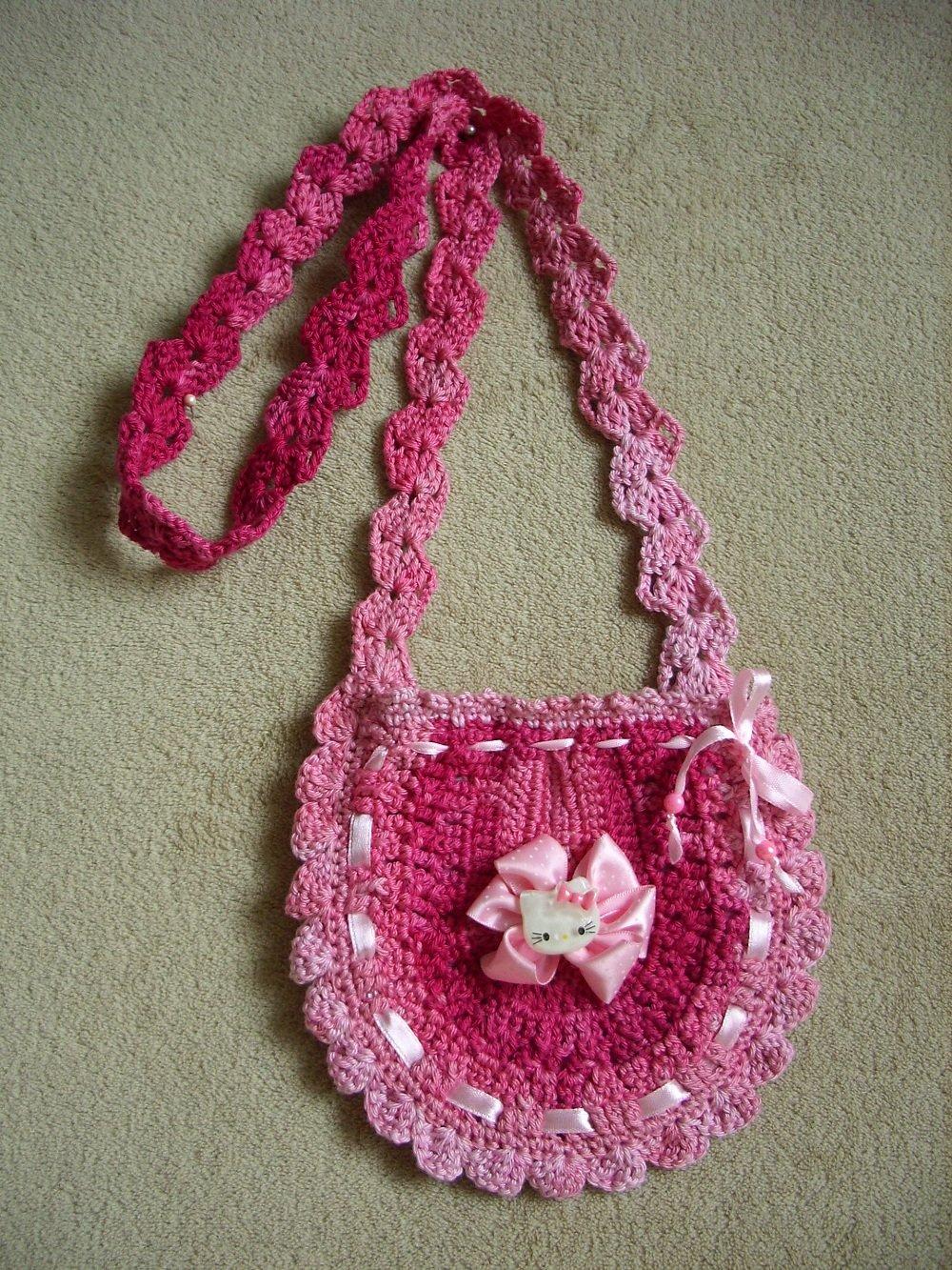 Вязание сумок для девочек