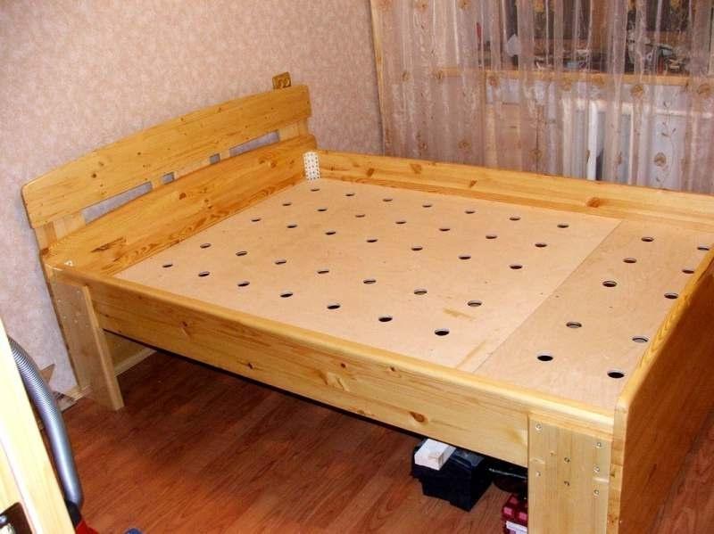Кровать в домашних условиях