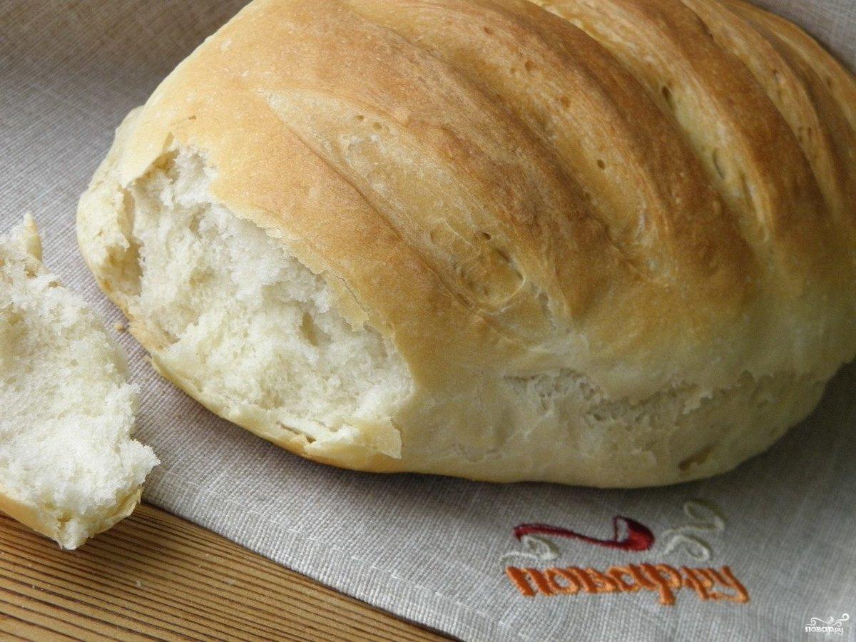 Хлеб на опаре в духовке рецепты пошагово с
