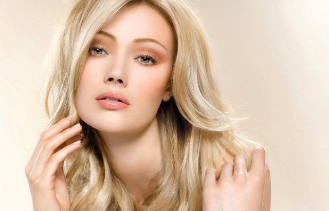 Макияж дневной для блондинки