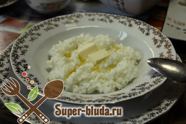 Рисовая каша на молоке рецепт с фото пошагово на 2 литра