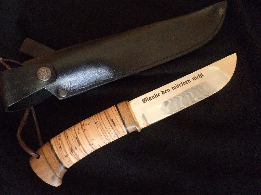 Как сделать гравировку на ноже в домашних условиях своими руками 78