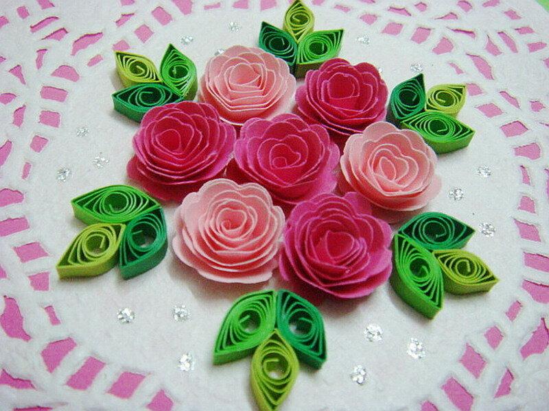 Как из бумаги сделать цветы квиллинг