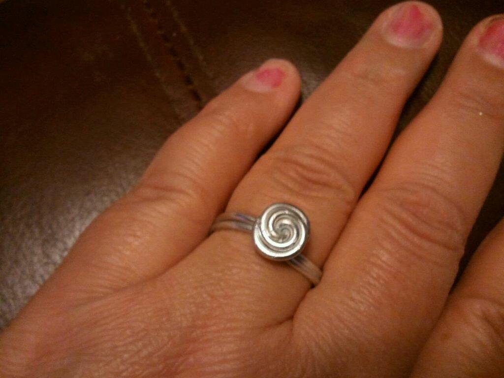 Кольцо своими руками детям 135
