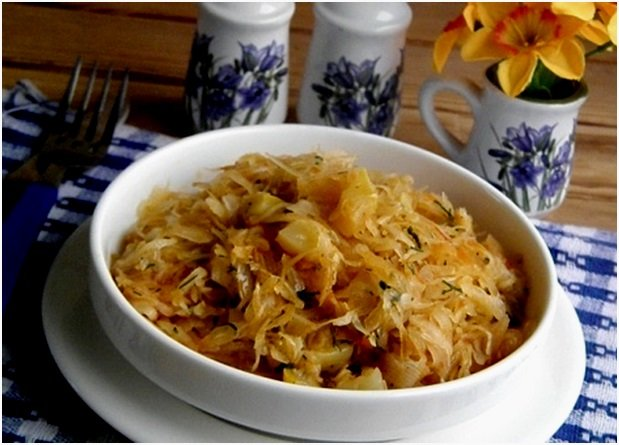 Рецепт капустной солянки из мультиварки