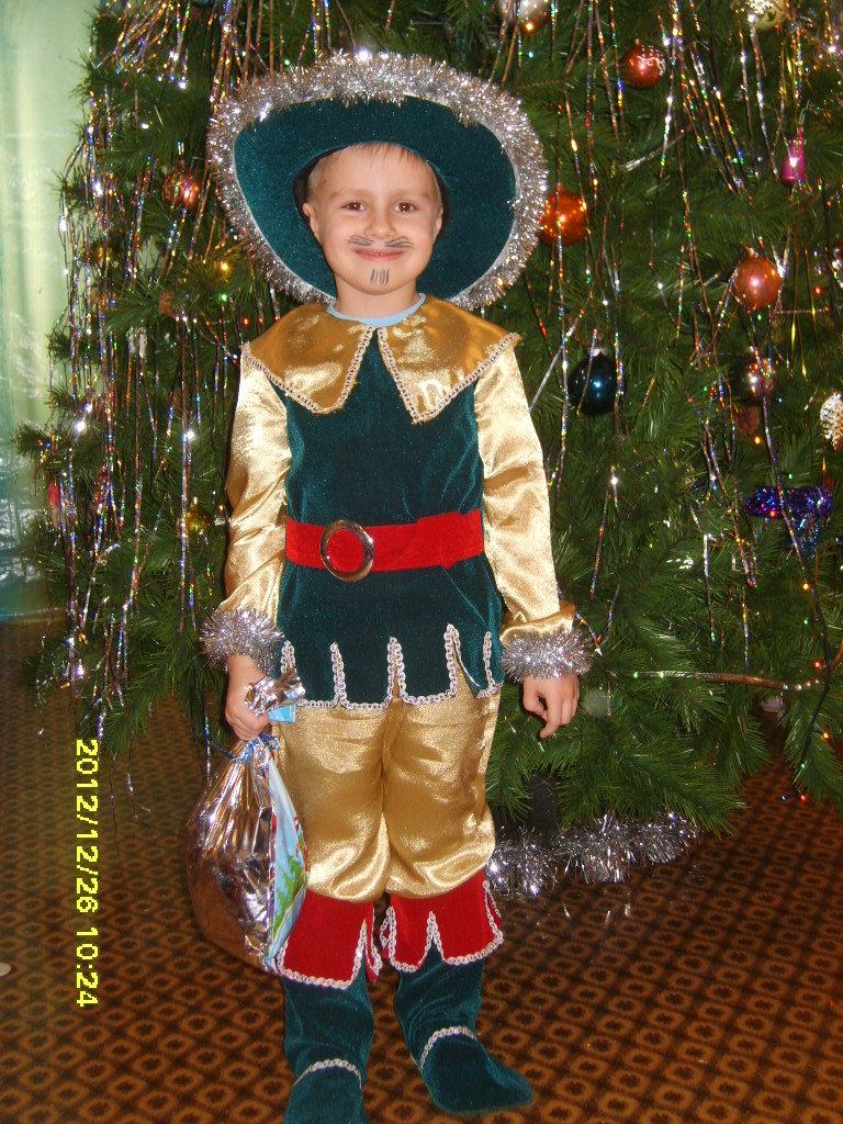 Новогодний костюм для мальчика своими рука