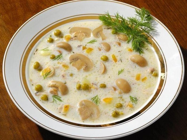 Шампиньоны консервированные рецепты суп