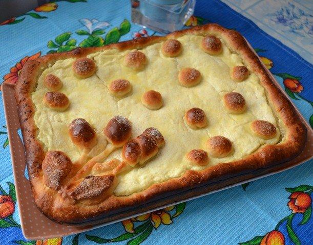 Рецепт теста для открытого пирога с яйцом