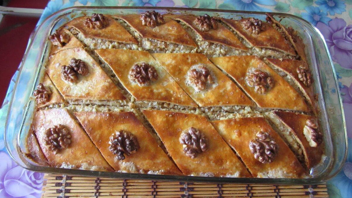 Пошаговый рецепт турецкой пахлавы фото
