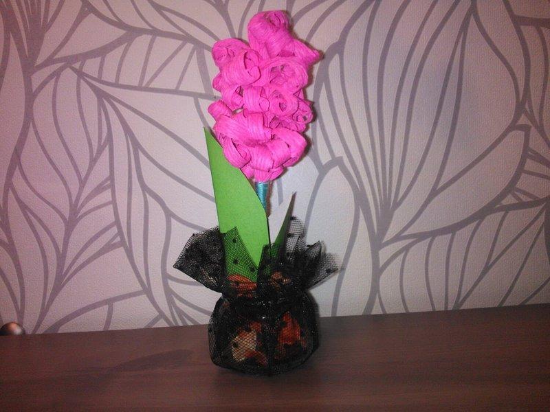 Поделки из бумаги цветы из гофрированной бумаги