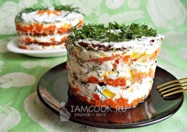 Печеночный торт рецепт с фото из говядины