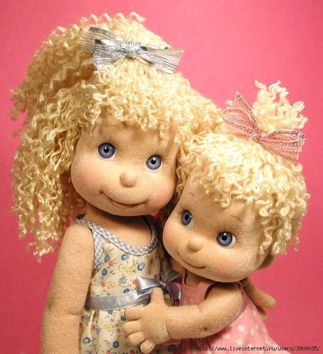 Как сшить красивою куклу
