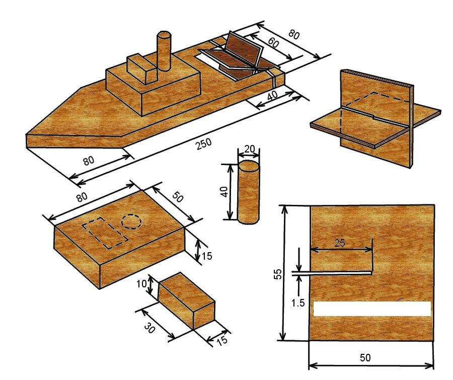 Поделки для технологии 5 класс из дерева 93