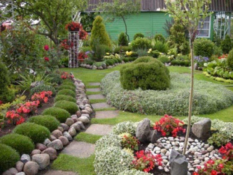 Сад и огород своими руками на 6 сотках