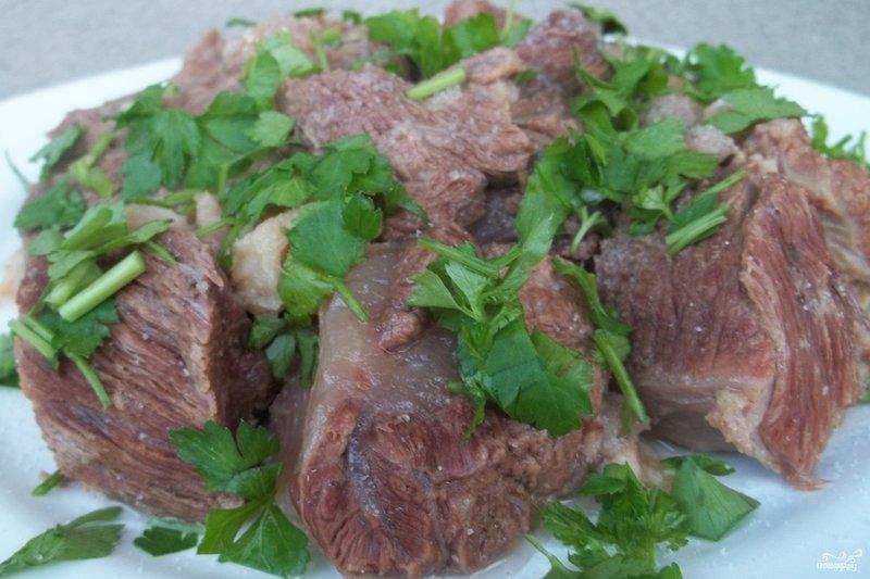 Хашлама рецепт из говядины пошагово