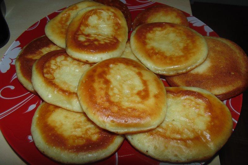 Рецепт оладьи на кефире с пошаговым
