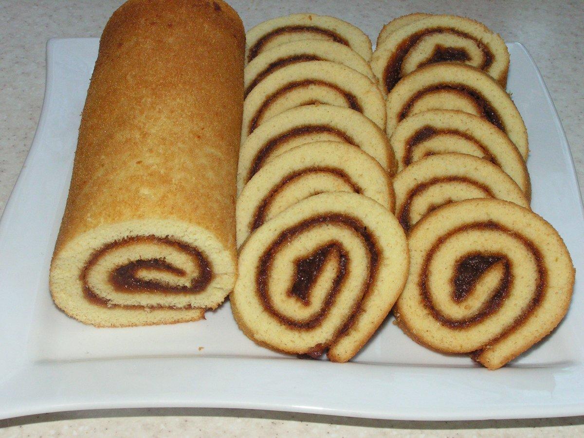 Рулет сладкий из дрожжевого теста рецепт пошагово