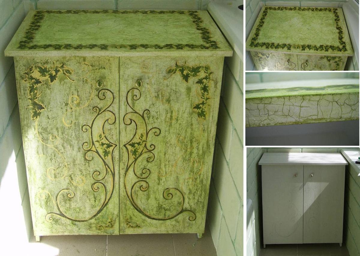 Декупаж шкафа своими руками: выбор идеи для декора 1