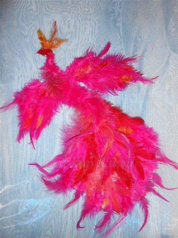 Поделки из перьев своими 541